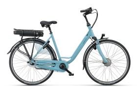 blå damcykel