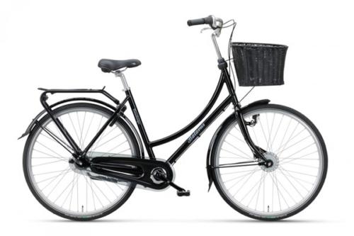 Svart damcykel